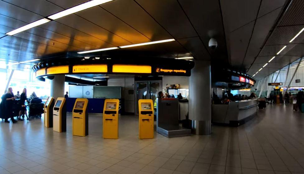 aeropuerto de ámsterdam schiphold