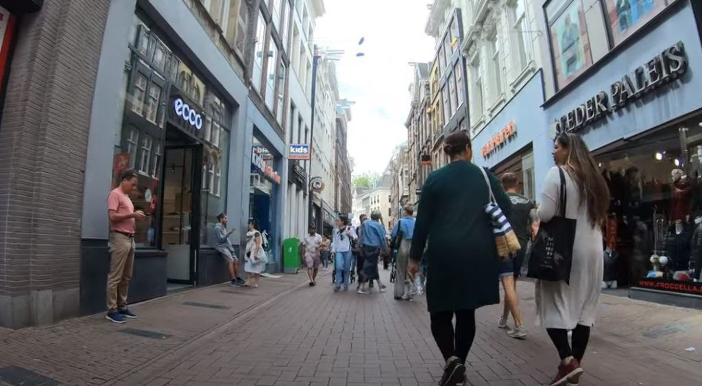 ir de compras por amsterdam